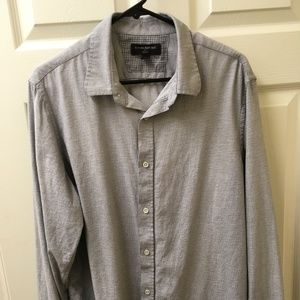 Banana Republic slim fit casual button down size L